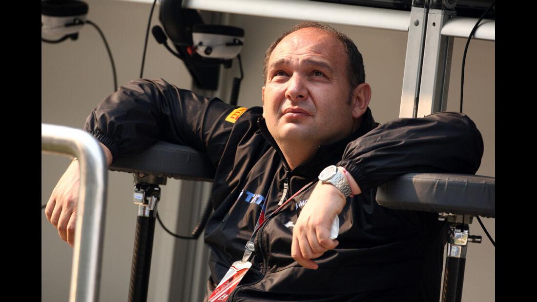 Colin Kolles - GP Indien - Training - 28.10.2011