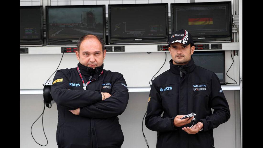 Colles und Liuzzi - GP Deutschland - Nürburgring - 22. Juli 2011