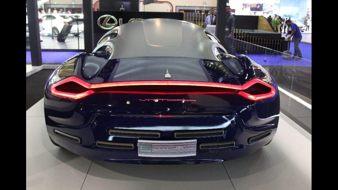 Concept Vittoria auf der Qatar Motorshow 2012