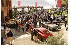 Concorso d Eleganza Villa d Este 2010, Gesamtansicht mit Aston Martin DB2 (1950) im Vordergrund