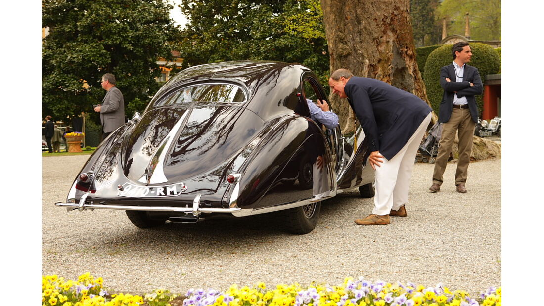 Concorso d Eleganza Villa d Este 2010, Talbot-Lago T 150 CSS TearDrop Coupe Figoni und Falschi (1938).