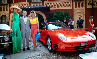 Concorso d'Eleganza Villa d'Este (2019) Porsche 959 Karajan