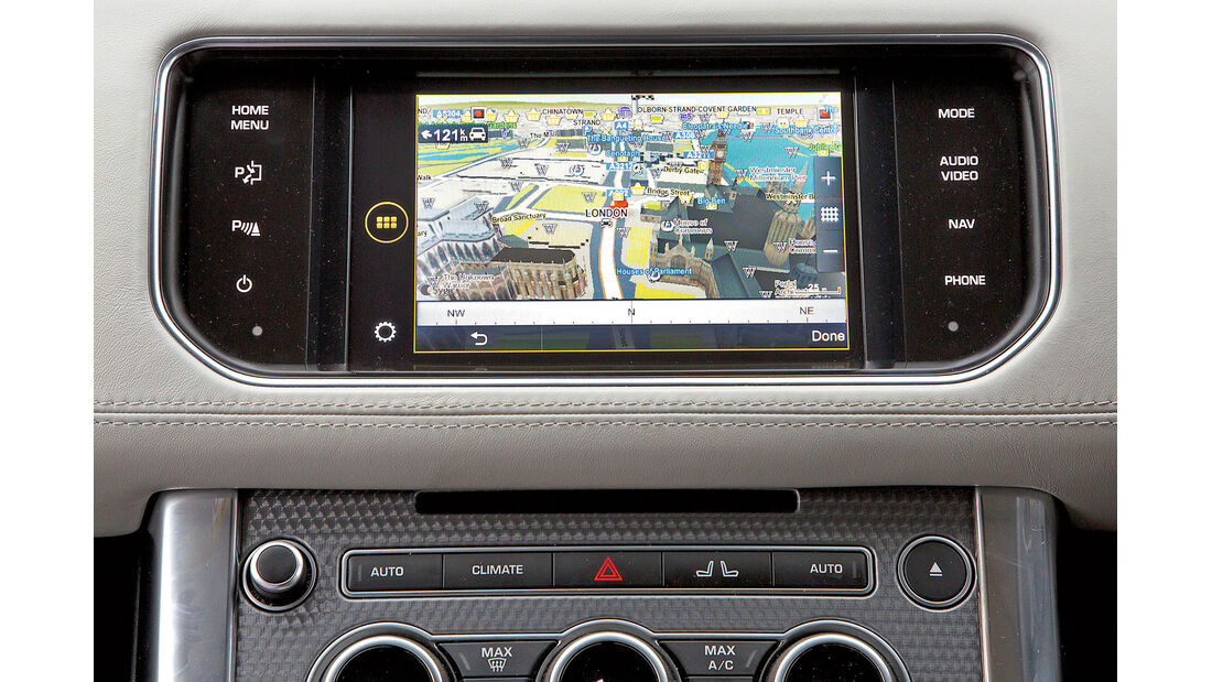 Connectivity und Fahrerassistenz, Jaguar, Land Rover