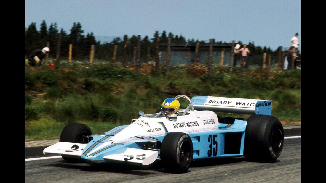 Conny Anderson - BRM P207 - GP Schweden 1977 - Anderstorp