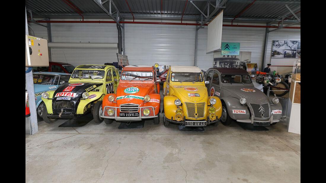 Conservatoire Citroen DS SM Rallye Rennfahrzeug