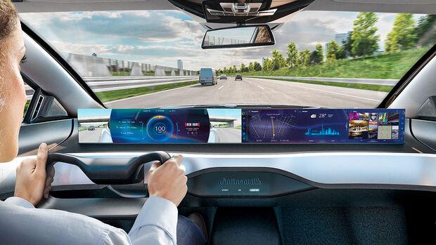 Continental Integrated Interior Plattform IAA 2019