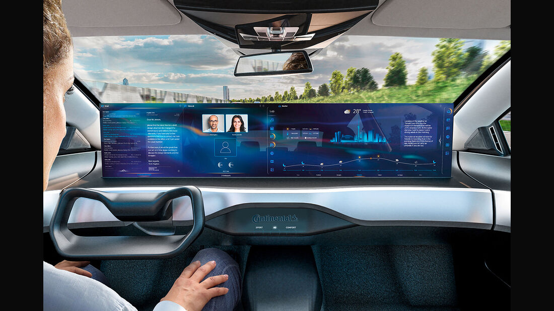 Continental Integrated Interior Plattform IAA 2019