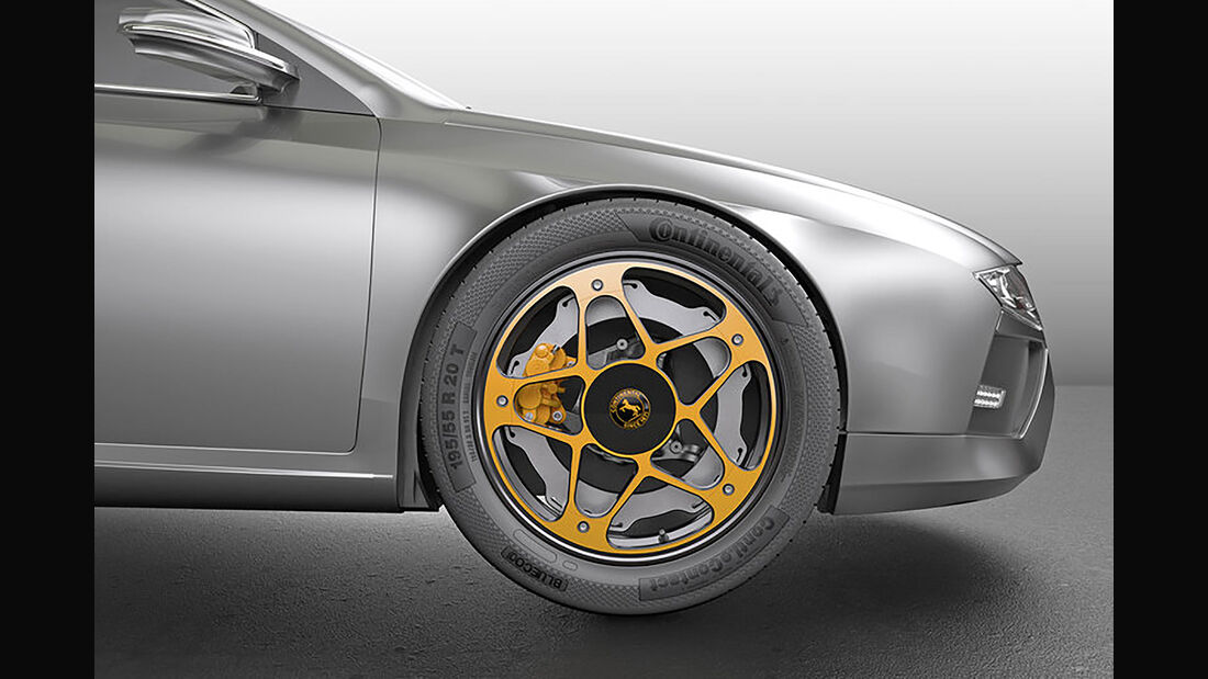 Continental New Wheel Concept Bremse