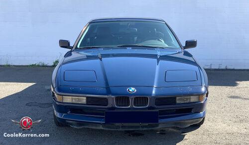 CooleKarren versteigert BMW 850 Ci