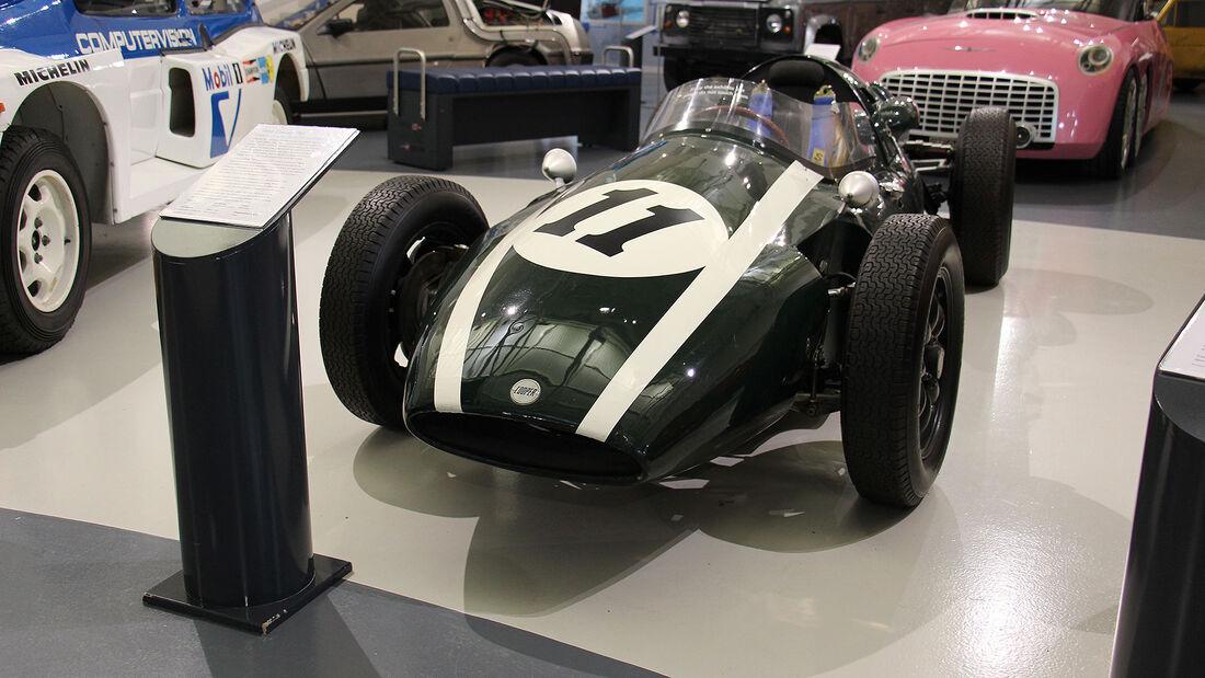 Cooper T51 im British Motor Museum