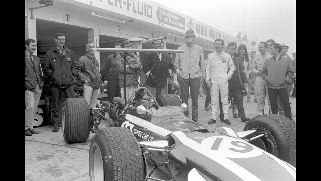 Cooper T86B - Lucien Bianchi - GP Deutschland 1968 - Nürburgring