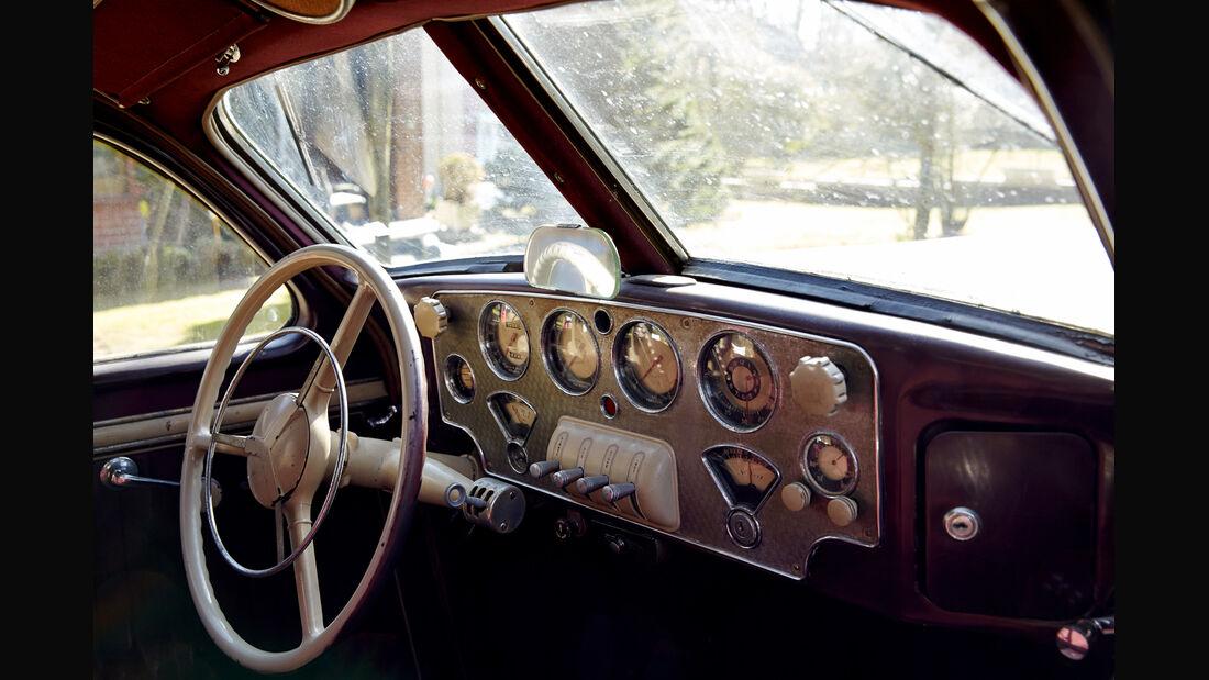 Cord 812, Cockpit, Lenkrad