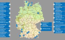 Corona Testzentren Autobahnen Deutschland