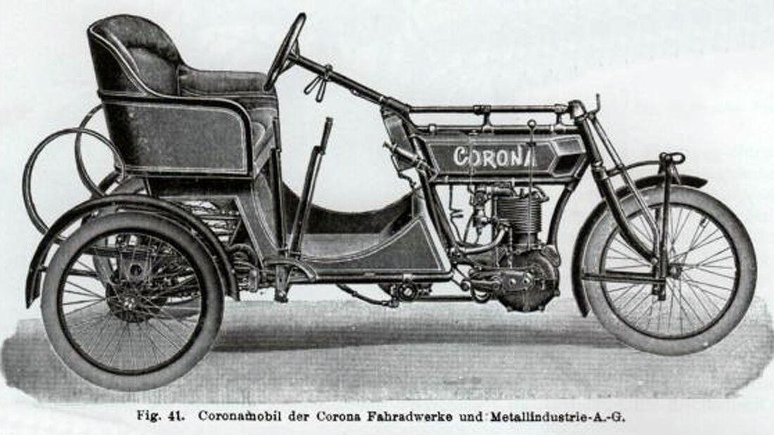 Corona-Werke, Coronamobil