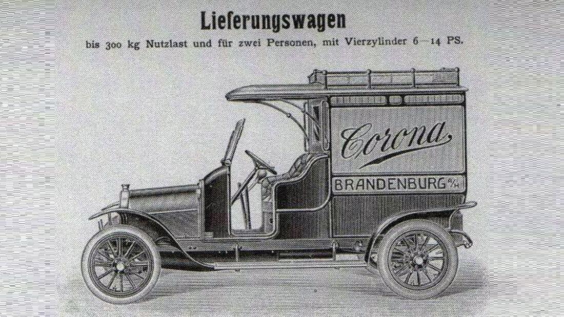 Corona-Werke, Lieferwagen