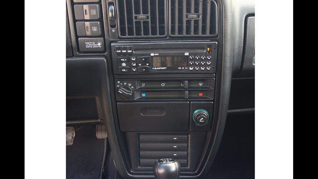 Corrado G60, Mittelkonsole