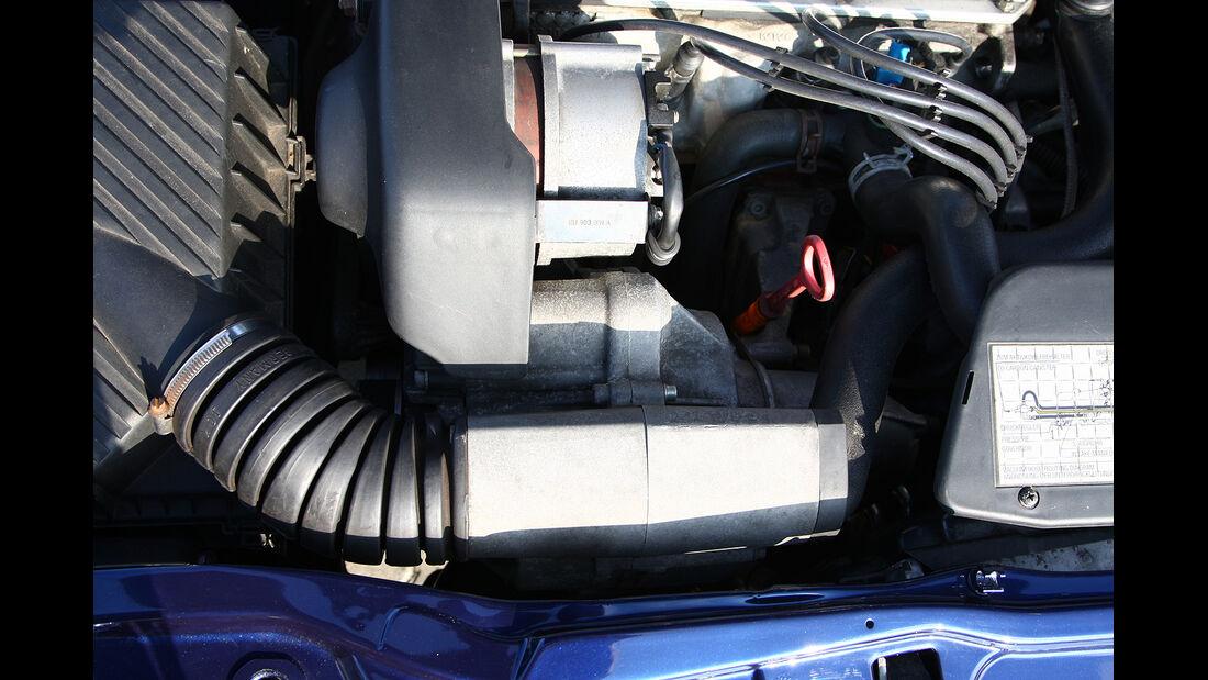 Corrado G60, Motorraum