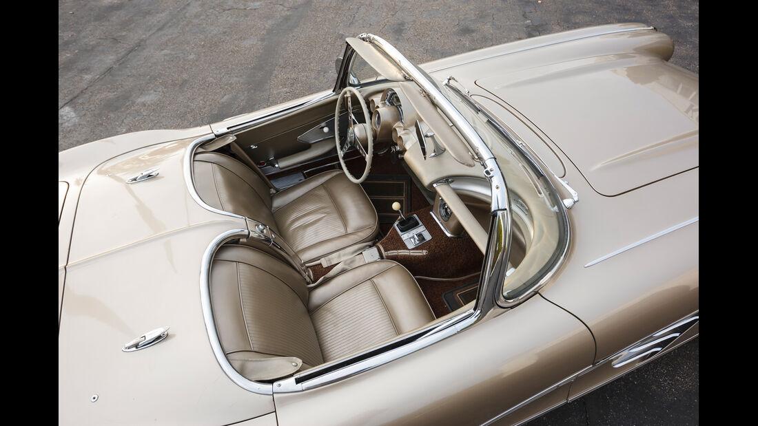 Corvette C1-C3, Cockpit, Sitze