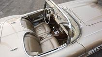 Corvette C1, Cockpit, Sitze
