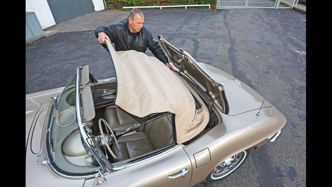 Corvette C1, Faltdach
