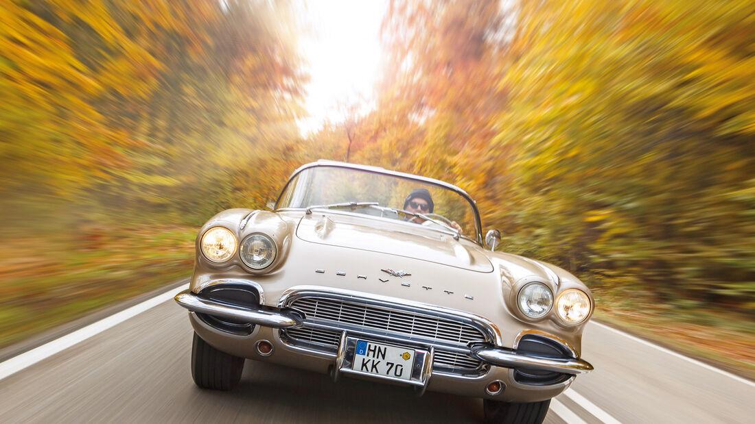 Corvette C1, Frontansicht