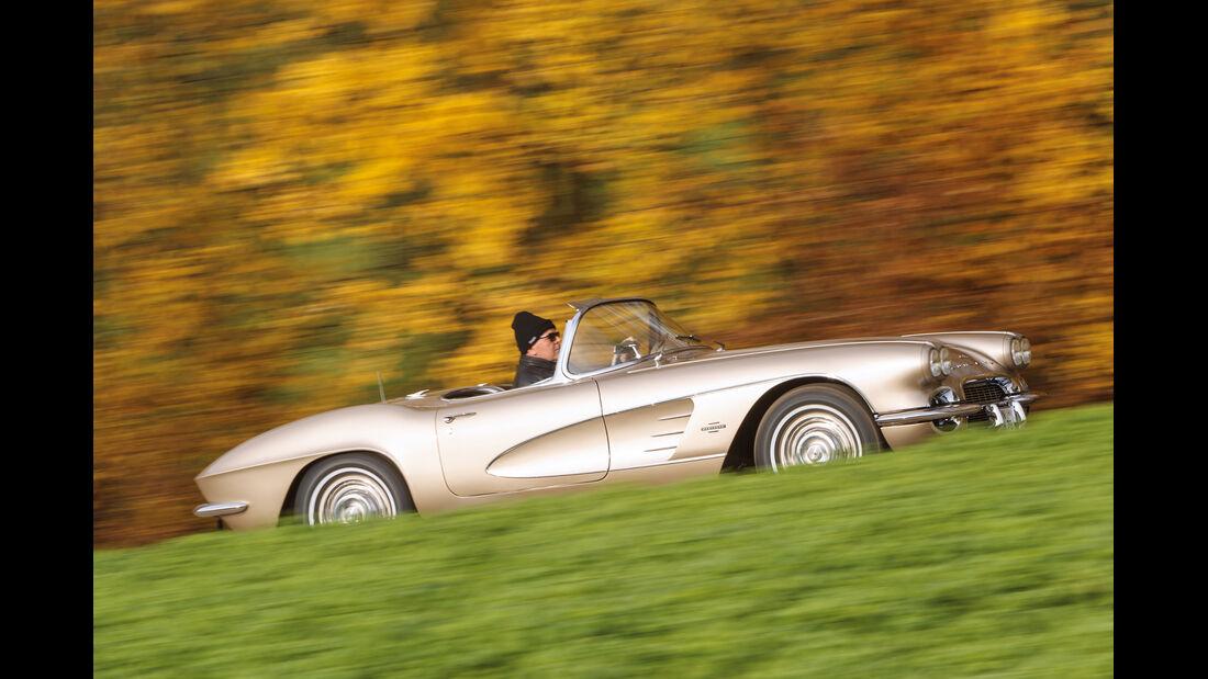 Corvette C1, Heckansicht