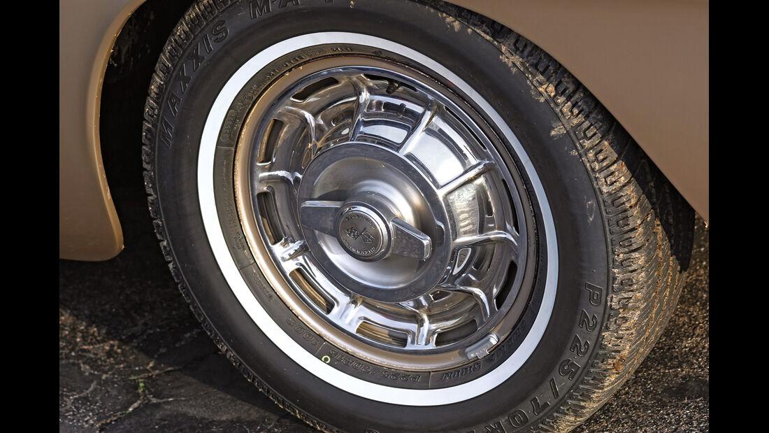 Corvette C1, Rad, Felge
