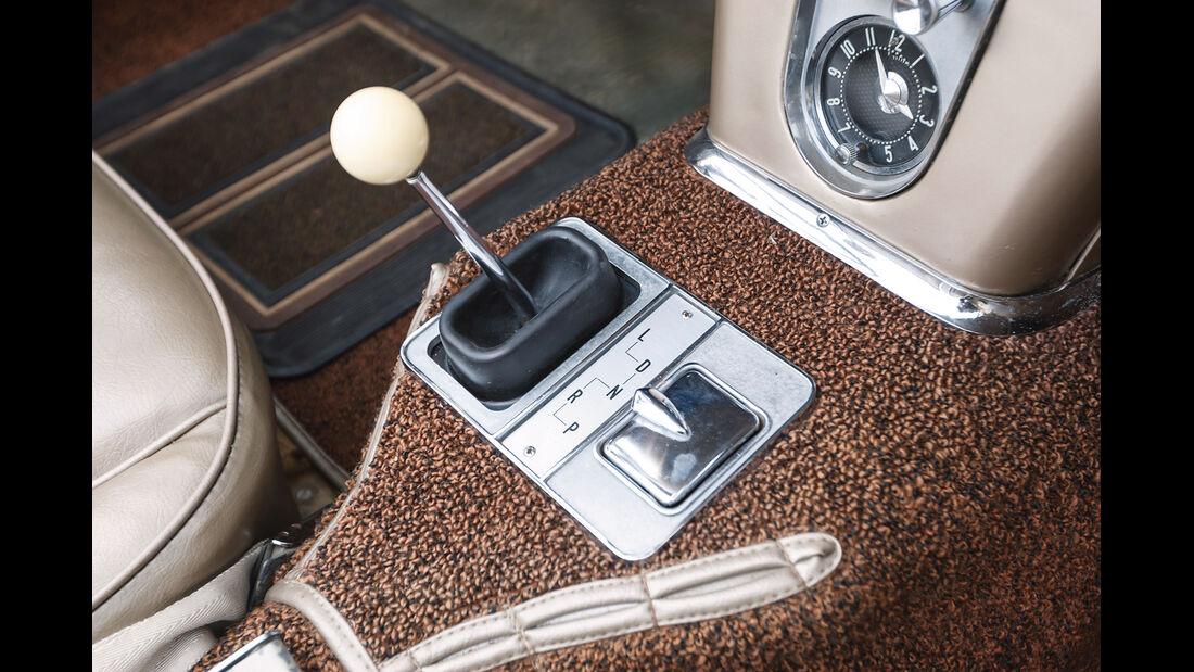 Corvette C1, Schalthebel, Schaltknauf