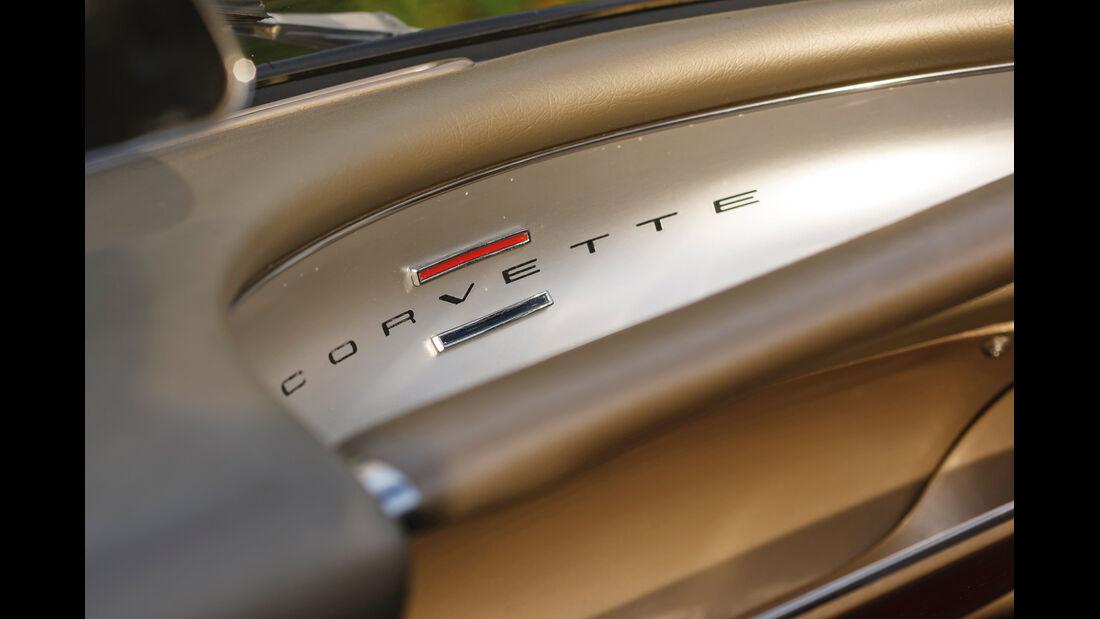 Corvette C1, Schriftzug, Typenbezeichnung