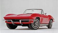 Corvette C2 Cabriolet, Frontansicht