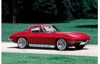 Corvette C2, Seitenansicht