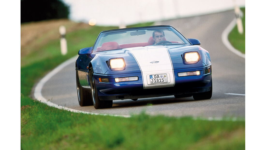 Corvette C4 Grand Sport, Frontansicht