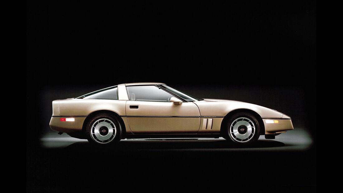 Corvette C4, Seitenansicht