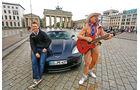 Corvette C6, Brandenburger Tor, Berlin