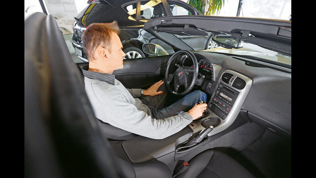 Corvette C6, Cockpit
