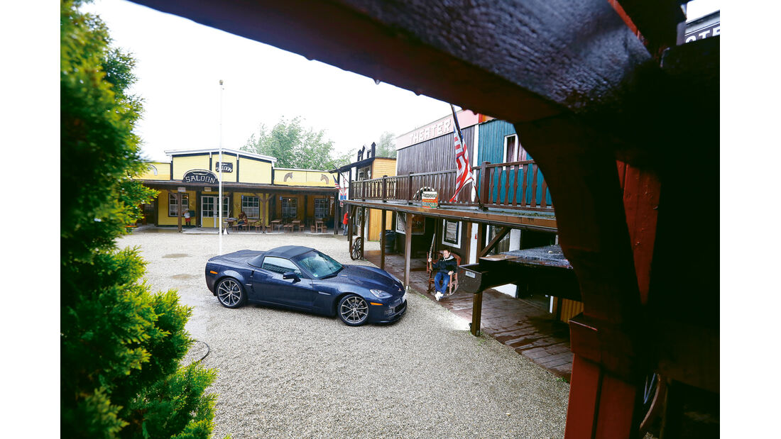 Corvette C6, Dasing