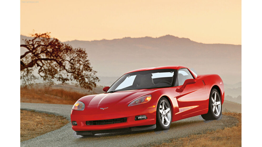 Corvette C6, Frontansicht