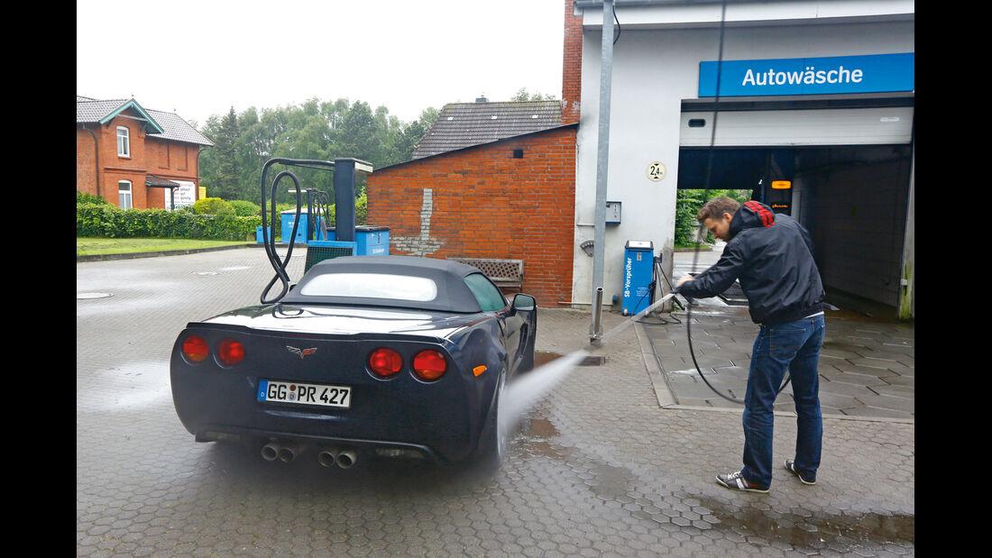 Corvette C6, Waschstraße