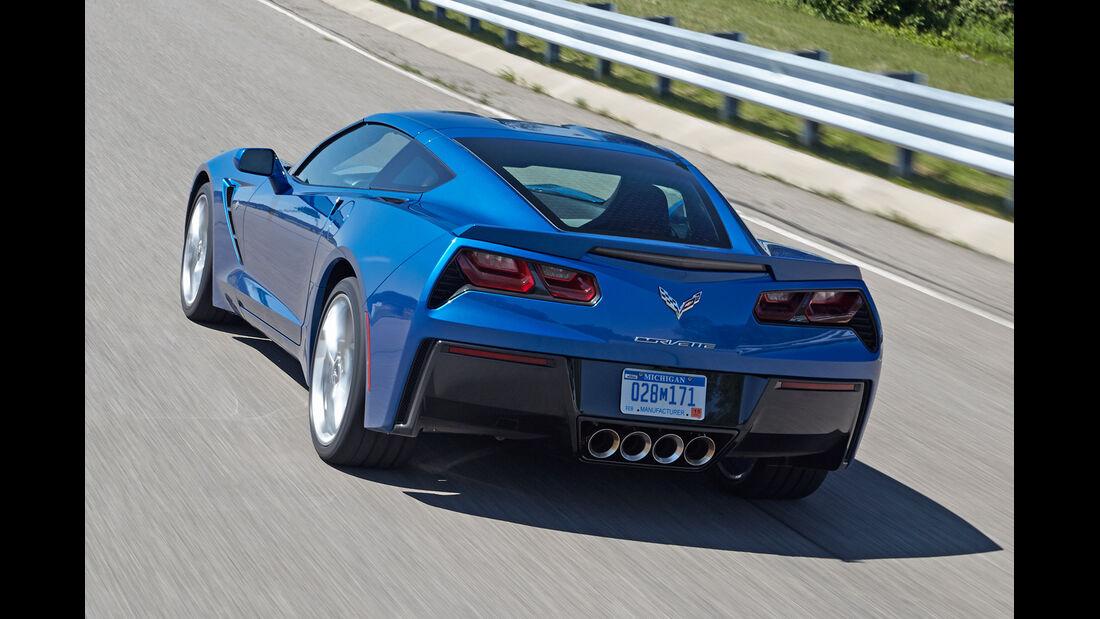 Corvette C7, Heckansicht