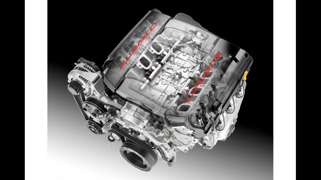 Corvette C7, Motor
