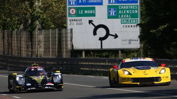 Corvette C7.R - Le Mans - Vortest