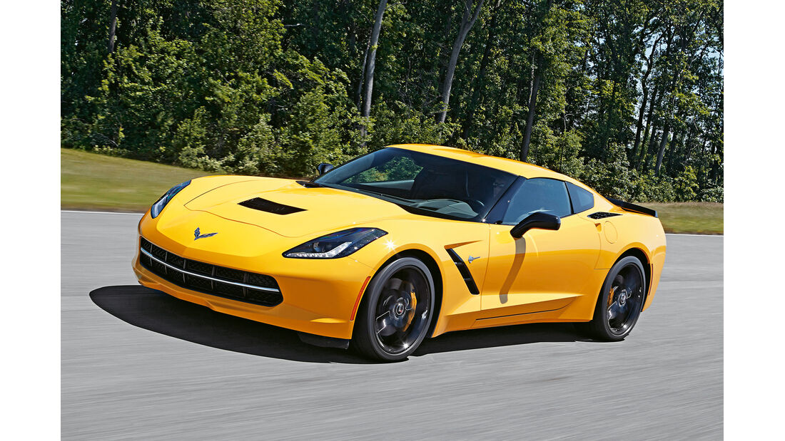 Corvette C7, Seitenansicht