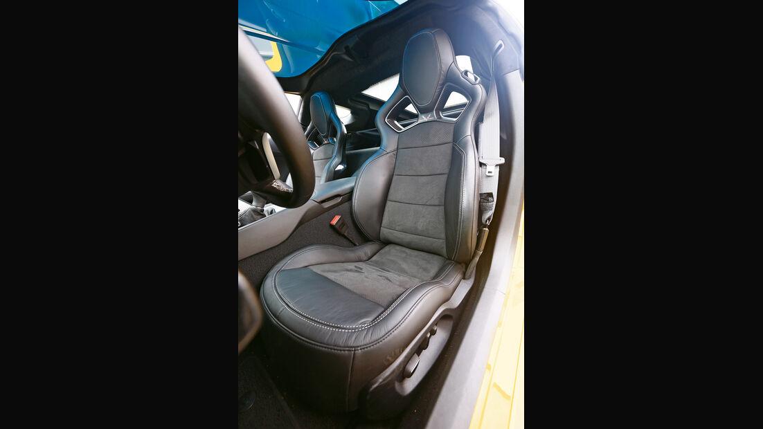 Corvette C7 Stingray, Fahrersitz