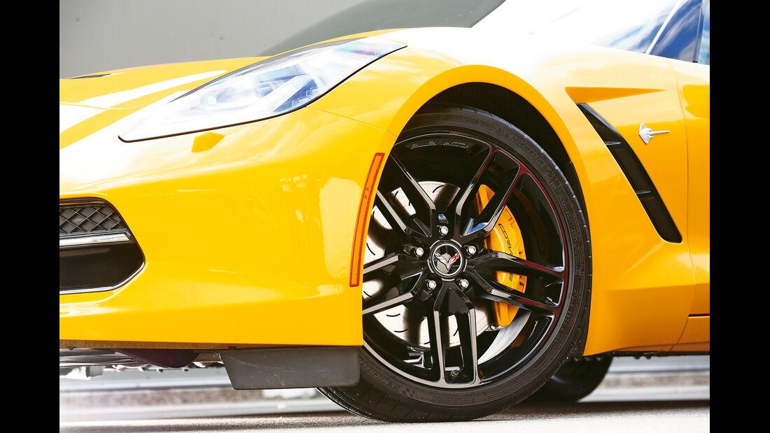 Corvette C7 Stingray, Rad, Felge, Bremse