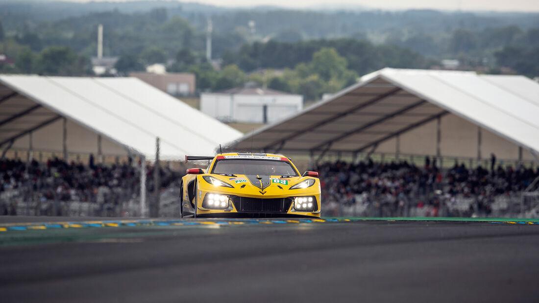 Corvette C8.R - Startnummer #63 - LMGTE Pro - 24h-Rennen Le Mans 2021
