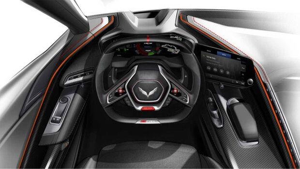 Corvette C8 Z06 Interieur