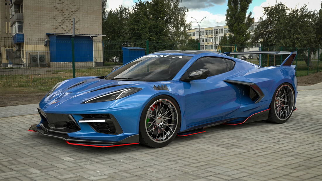 Corvette C8RR Tuning Sigala Designs