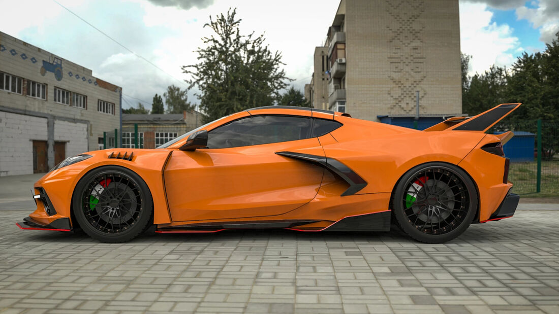Corvette C8RR Tuning Sigala Designs