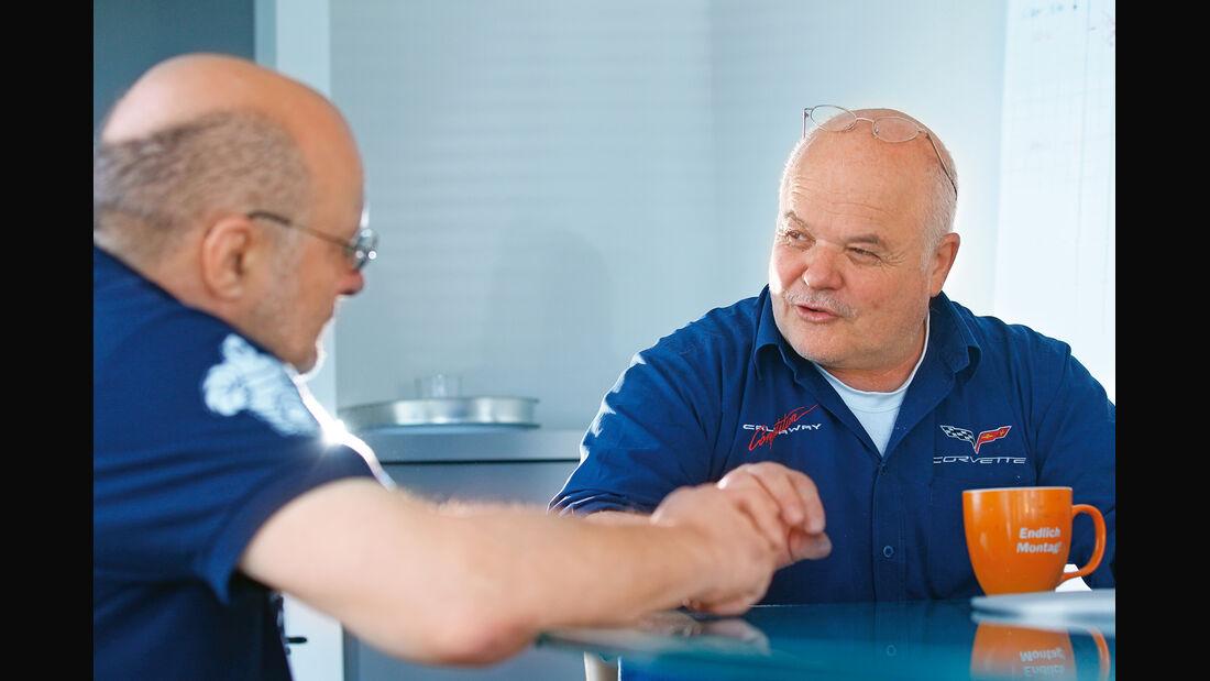 Corvette, Ernst Wöhr, Herbert Schürg