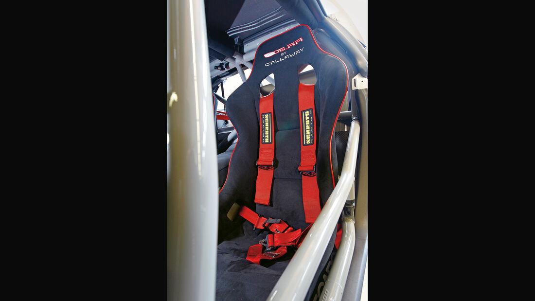 Corvette, Fahrersitz, Rennsitz